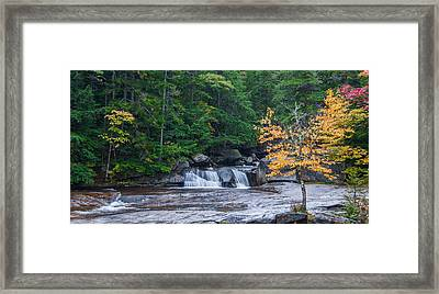 Gulf Hagas Brook Framed Print by Guy Whiteley