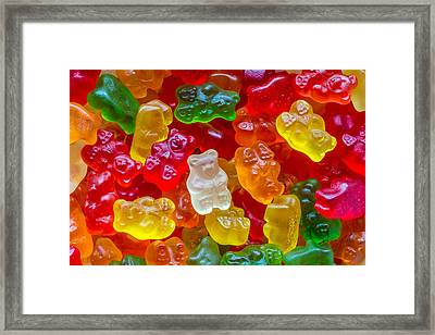 Gummy Bears Framed Print by Pierre Leclerc Photography