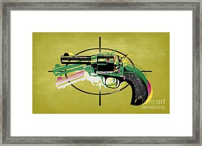 Gun 5 Framed Print by Mark Ashkenazi