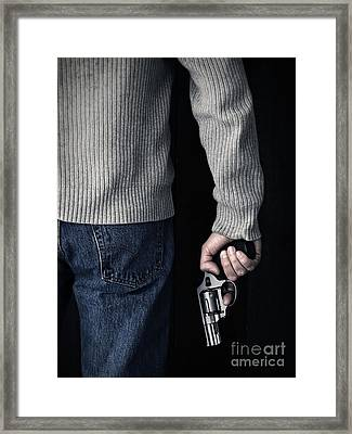 Gun Framed Print by Edward Fielding