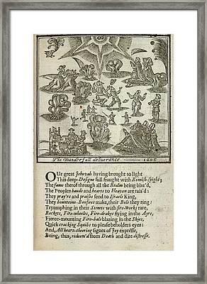Gunpowder Plot Framed Print by British Library
