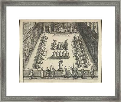 Gunpowder Plot Trial Framed Print by British Library