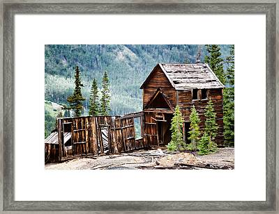 Guston-robinson Mine Framed Print by Lana Trussell