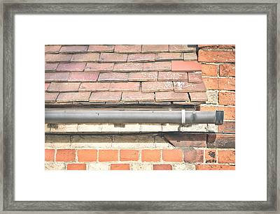 Gutter Framed Print by Tom Gowanlock