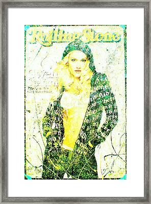 Gwen Framed Print by Chris Cloud