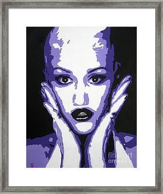 Gwen Stefani Framed Print by Venus