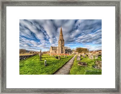 Gwyddelwern Church Framed Print by Adrian Evans