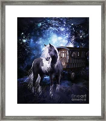 Gypsy Dreaming Framed Print by Shanina Conway