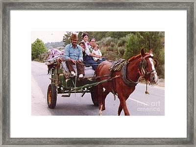 Gypsy Framed Print by Graham Foulkes