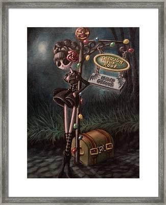 Gypsy Out Framed Print by Lori Keilwitz