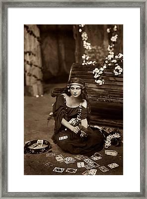 Gypsy Framed Print by Unknown