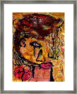 Gypsy Woman Framed Print by Alexandra Jordankova