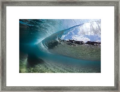 H30 Roll Framed Print by Sean Davey