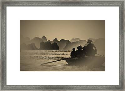 Ha Long Bay Framed Print by Jose Carlos Fernandes