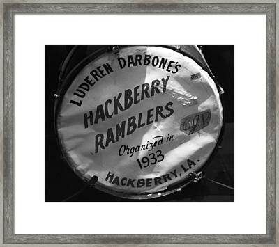 Hackberry Ramblers Framed Print by Dan Sproul