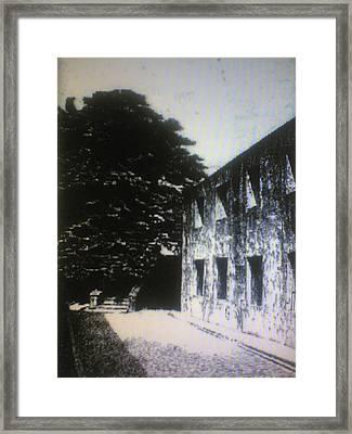 Hagdan Ng Kahapon Framed Print by Hezekiah Lopez