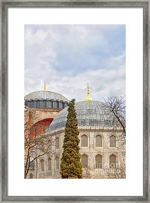 Hagia Sophia 11 Framed Print by Antony McAulay