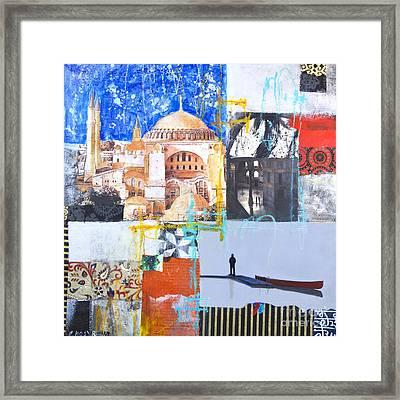 Hagia Sophia Istanbul Framed Print by Elena Nosyreva