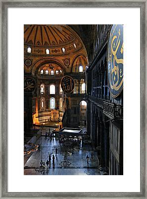 Hagia Sophia Framed Print by Stephen Stookey