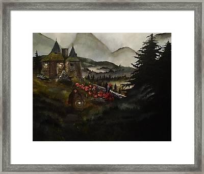 Hagrid's Hut Framed Print by Tim Loughner
