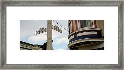 Haight Ashbury District San Francisco Ca Framed Print by Panoramic Images