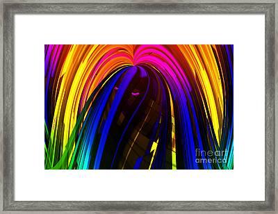 Hair Framed Print by Cheryl Young