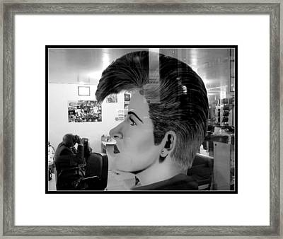 Hair Framed Print by Daniel Gomez