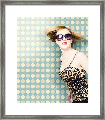 Hairdressing Style Framed Print by Jorgo Photography - Wall Art Gallery