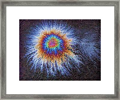 Hairy Eyeball Framed Print by Samuel Sheats