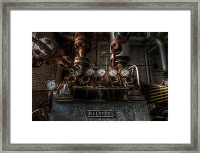 Hal Framed Print by Nathan Wright