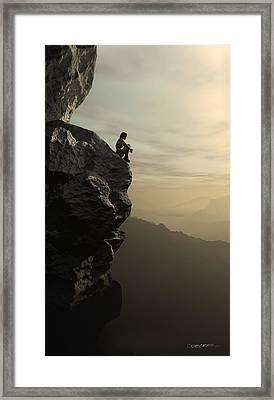Halcyon Framed Print by Cynthia Decker