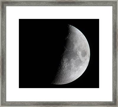 Half And Half Framed Print by George Leask