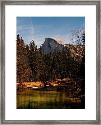 Half Dome Spring Framed Print by Bill Gallagher