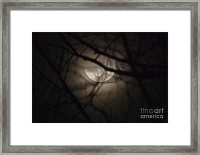 Half Moon Framed Print by Jonathan Welch
