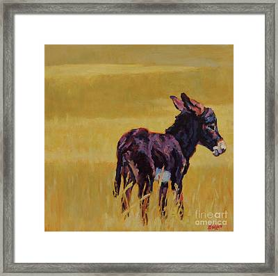Half Pint Framed Print by Patricia A Griffin