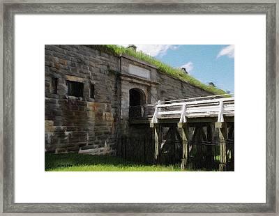 Halifax Citadel Framed Print by Jeff Kolker