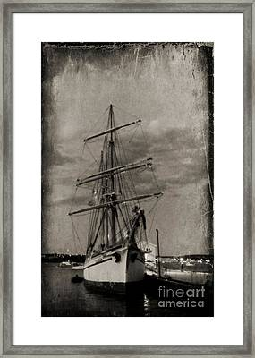 Halifax Harbour Framed Print by John Malone