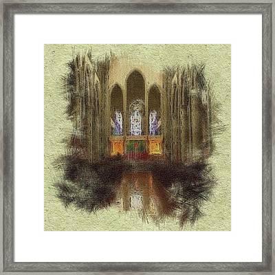 Hallelujah Framed Print by Maryann Burrows