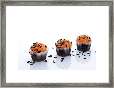 Halloween Cupcakes Framed Print by Juli Scalzi