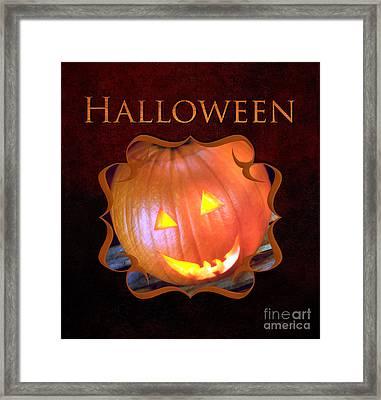Halloween Gallery Framed Print by Iris Richardson