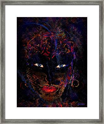 Halloween Girl Framed Print by Natalie Holland