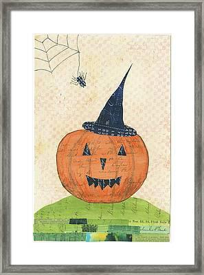 Halloween II Framed Print by Courtney Prahl