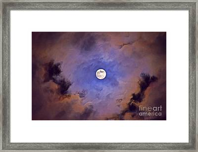 Halloween Moon Framed Print by Image World