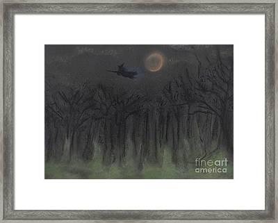 Halloween Night By Jrr Framed Print by First Star Art
