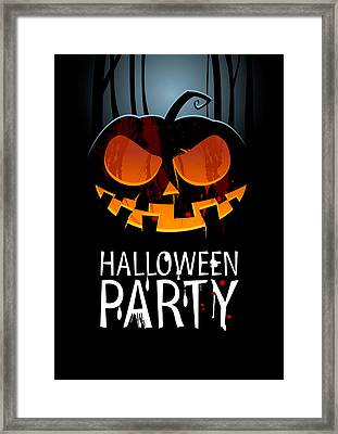 Halloween Party Framed Print by Gianfranco Weiss