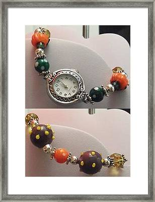 Halloween Watch Framed Print by Kimberly Johnson