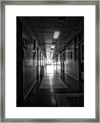 Hallway Framed Print by H James Hoff