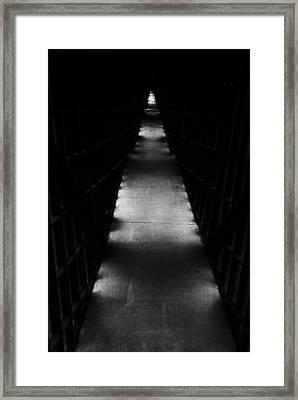Hallway To Nowhere Framed Print by Christi Kraft