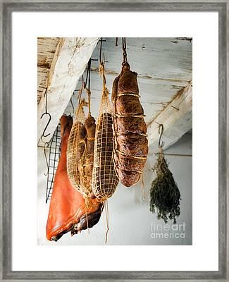 Ham And Kulen Framed Print by Sinisa Botas