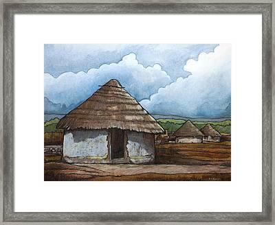 Hamana 1 Framed Print by Dave Kobrenski